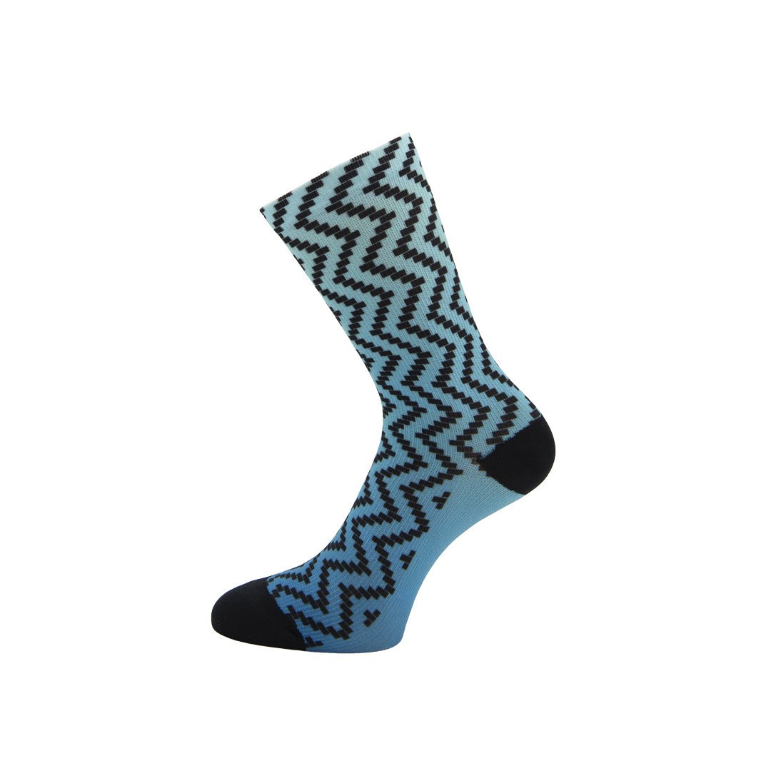 CALZA CICLISMO BEE1 - STEP BLUE GRADIENT